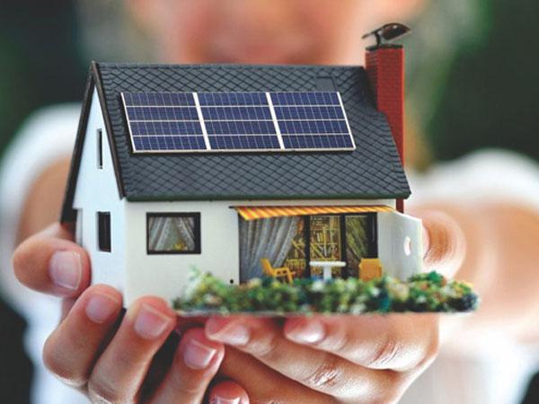 Как сделать дом на солнечных батареях